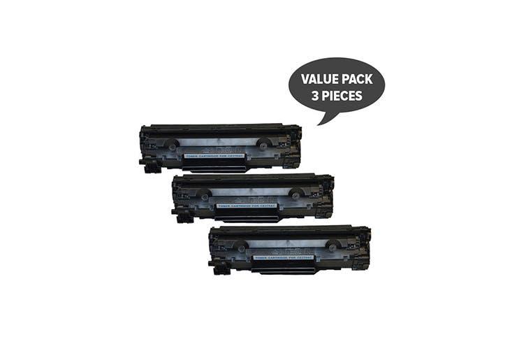 CE278 HP #78A Cart326 Black Generic Toner (Three Pack)
