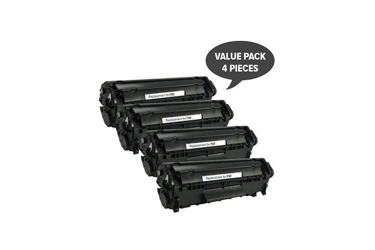 FX-9 Black Premium Generic Toner (Four Pack)