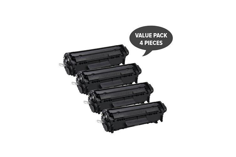Q2612A #12A Cart-303 Premium Generic Toner (Four Pack)