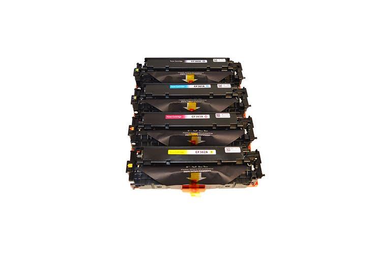 CF380X #312X Series Premium Generic Remanufactured Laser Toner Cartridge Set