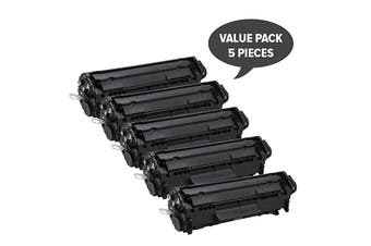 Q2612A #12A Cart-303 Premium Generic Toner (Five Pack)