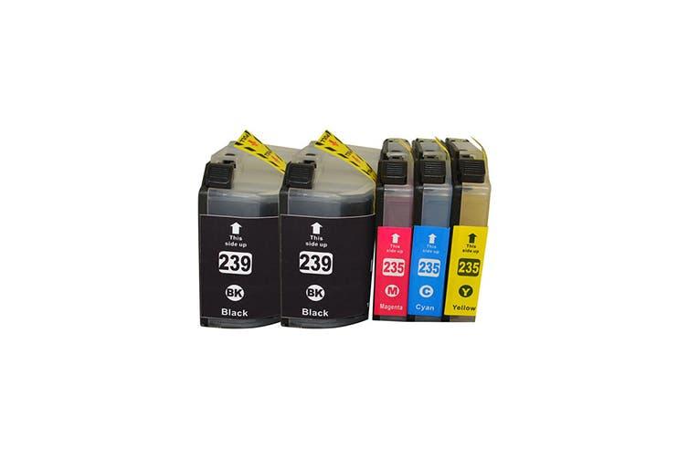 LC-239 Series Premium Compatible Inkjet Cartridge Set Plus Extra Black