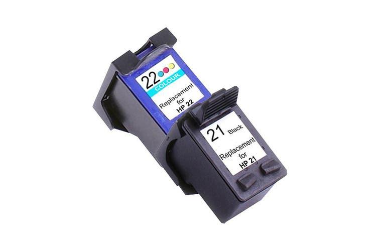 21XL Remanufactured Inkjet Cartridge Set