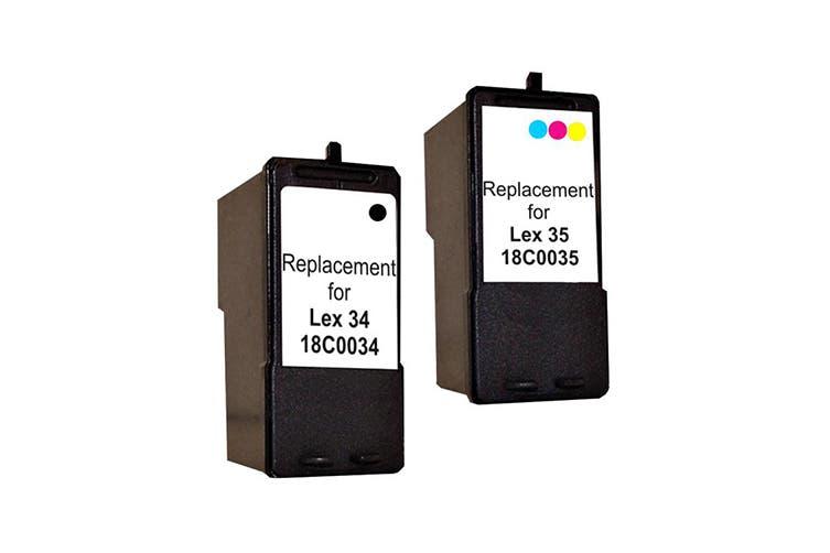 18C0034 No.34 Compatible Inkjet Cartridge Set