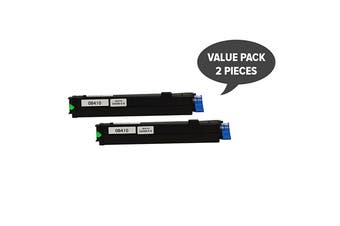 43979103 Generic Toner Cartridges (Two Pack)