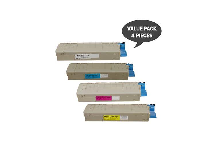 C710 C711 Premium Generic Colour Laser Set