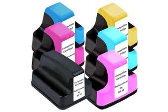 02XL Compatible Inkjet Cartridge Set  6 Ink Cartridges