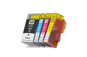 920XL Compatible Inkjet Set 4 Cartridges