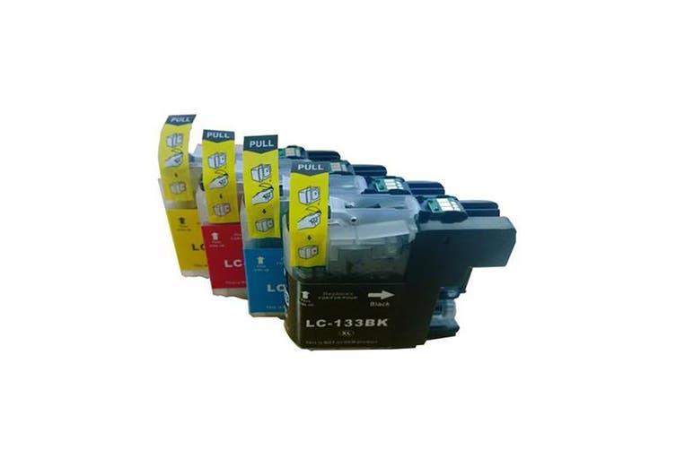 LC133 Compatible Inkjet Cartridge Set  4 Ink Cartridges