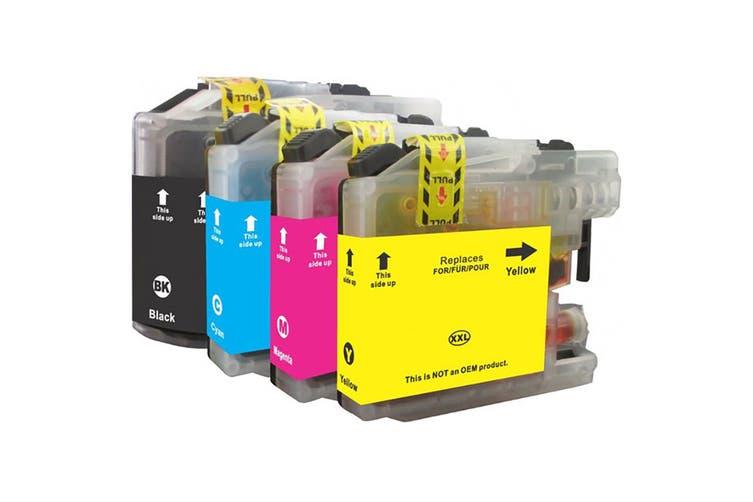LC137 LC135 Compatible Inkjet Cartridge Set  4 Ink Cartridges