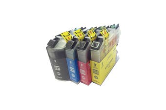 LC-237 LC-235 Premium Inkjet Compatible Set (4 Cartridges)