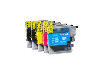 LC39 Compatible Inkjet Cartridge Set  5 Ink  Cartridges