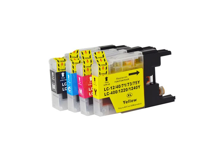 LC73XL Compatible Inkjet Cartridge Set 4 Ink Cartridges