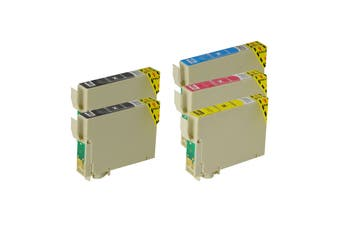 73N Compatible Inkjet Cartridge Set  5 Ink Cartridges