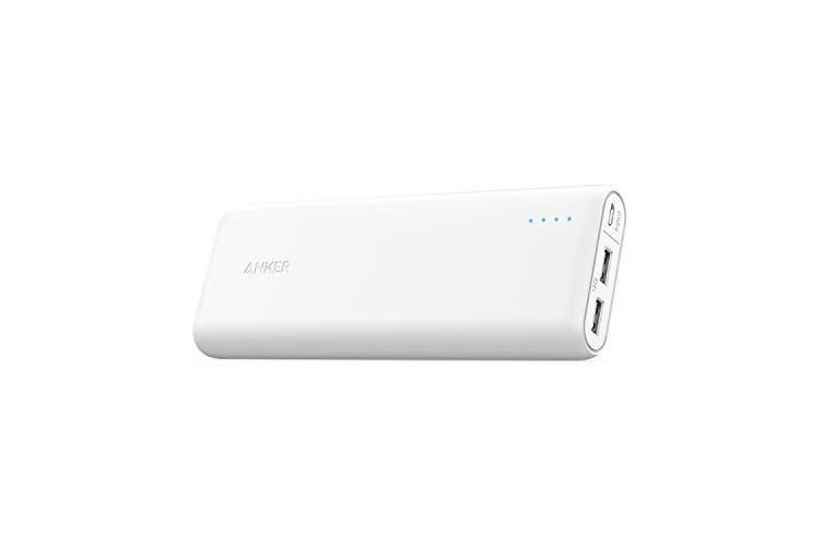 Anker PowerCore 20100mAh Power Bank A1271H22 (White)