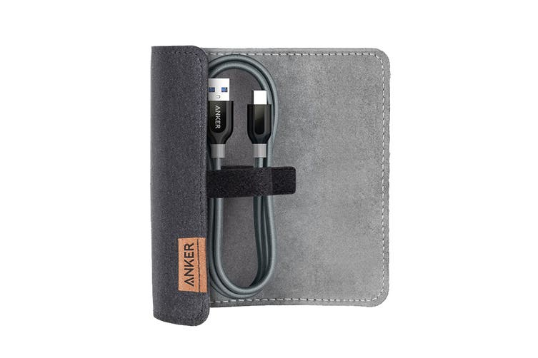 Anker PowerLine+ USB-C to USB 3.0 0.9m with Pouch A8168HA1 (Gray)