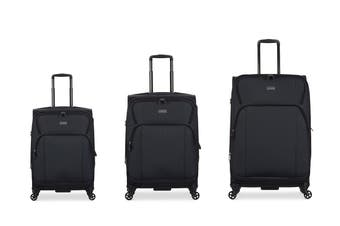 Antler Airstream 2 Roller Case 3 Piece Luggage Set - Charcoal