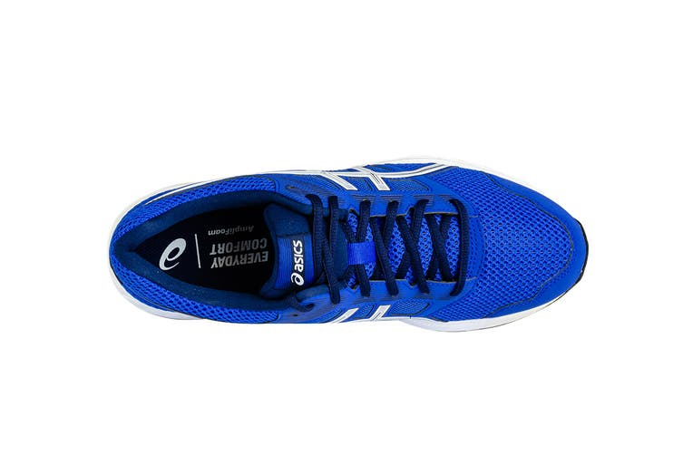 ASICS Men's GEL-Contend 5 Running Shoes (Imperial Blue/White, Size 9.5)