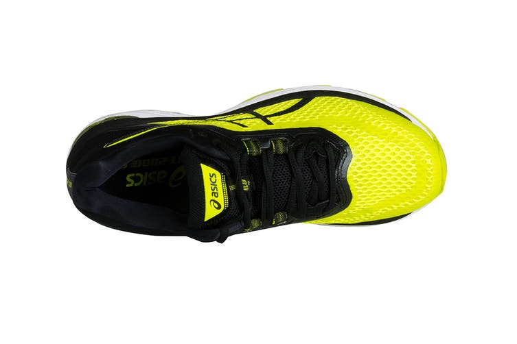 ASICS Men's GT-2000 6 Running Shoe (Sulphur Spring/Black/White, Size 8)