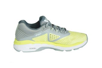 ASICS Women's GT-2000 6 Running Shoe (Limelight/White/Mid Grey, Size 8)