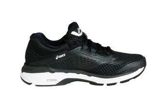 ASICS Women's GT-2000 6 Running Shoe (Black/White/Carbon, Size 6)
