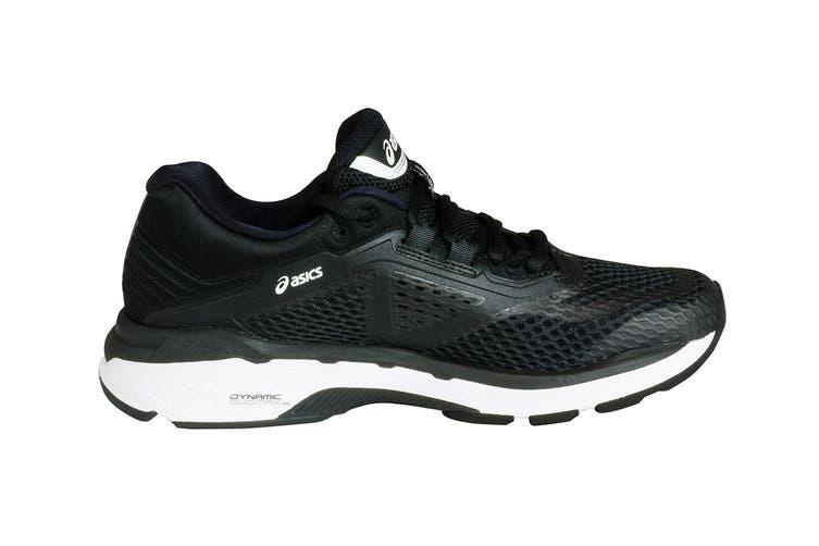 ASICS Women's GT-2000 6 Running Shoe (Black/White/Carbon, Size 6)