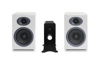 Audioengine N22 Amplifier & P4 Speaker Pair (Hi-Gloss White) Bundle