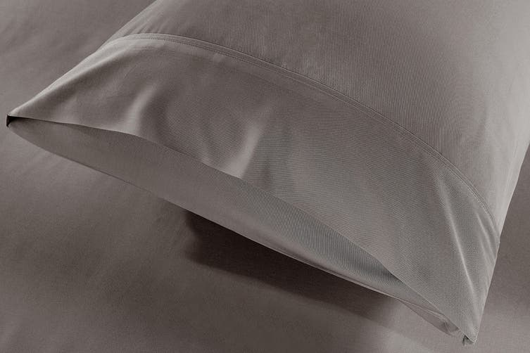 Royal Comfort 100% Natural Bamboo Bed Sheet Set (Double, Charcoal)