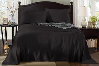 Royal Comfort 100% Natural Bamboo Bed Sheet Set (Graphite)