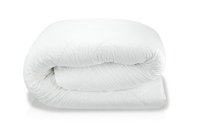 Royal Comfort Gel Infused Memory Foam Mattress Topper (King)