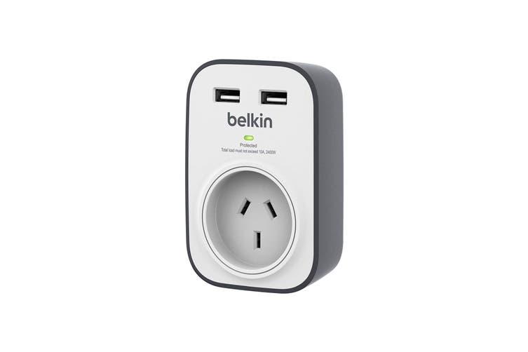 Belkin SurgePlus 1-Outlet 2.4A USB Surge Protector (BSV103AU)