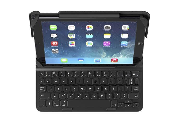 Belkin QOD Slim Style Keyboard Case for iPad (2017), iPad Air 2, iPad Air - Black (F5L174TTC00)