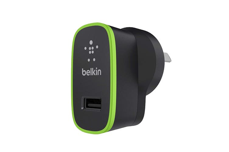 Belkin Boost Up 2.4A USB Home Charger - Black (F8J040AUBLK)