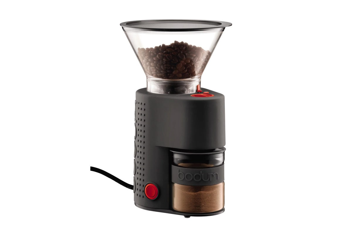 Bodum Bistro Electric Adjustable Burr Coffee Grinder - Black (10903-01AUS)