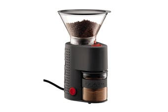 Bodum Bistro Electric Adjustable Burr Coffee Grinder - Black (10903-01AUS)
