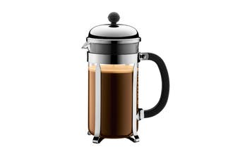 Bodum Chambord Stainless Steel Coffee Maker - 1L/8 Cup (1928-16)