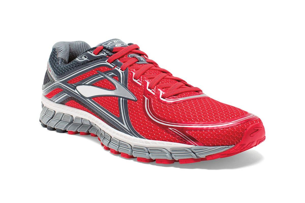 brooks men 39 s adrenaline gts 16 shoes red anthracite. Black Bedroom Furniture Sets. Home Design Ideas