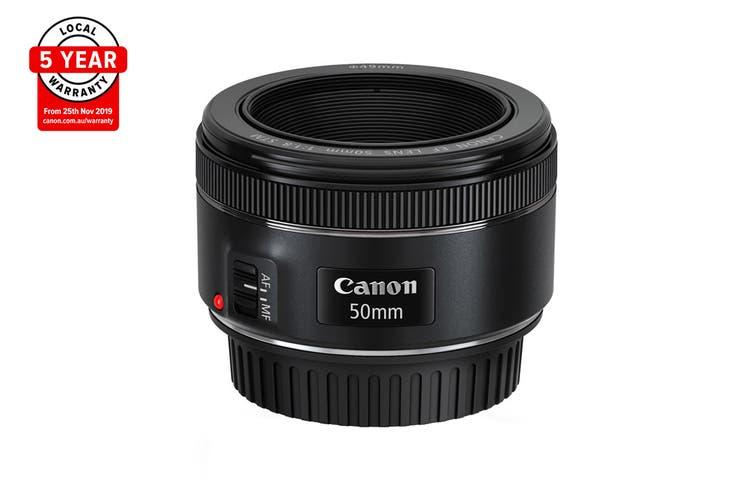 Canon EF 50mm f/1.8 STM, Diameter 49mm to suit Lens Hood ES-68 (EF5018ST)
