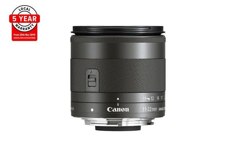 Canon EF-M 11-22mm f/4-5.6 IS STM Lens (EFM11-22ISST)
