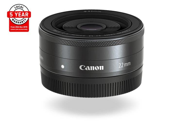 Canon EF-M 22mm f/2 STM Lens (EFM2220ST)