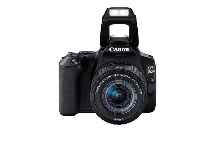 Canon EOS 200D Mark II with EF-S 18-55mm f/4-5.6 IS STM Lens & 4K Movie Shooting