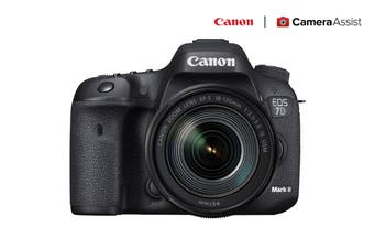 Canon EOS 7D Mark II DSLR Camera with 18-135mm IS Lens