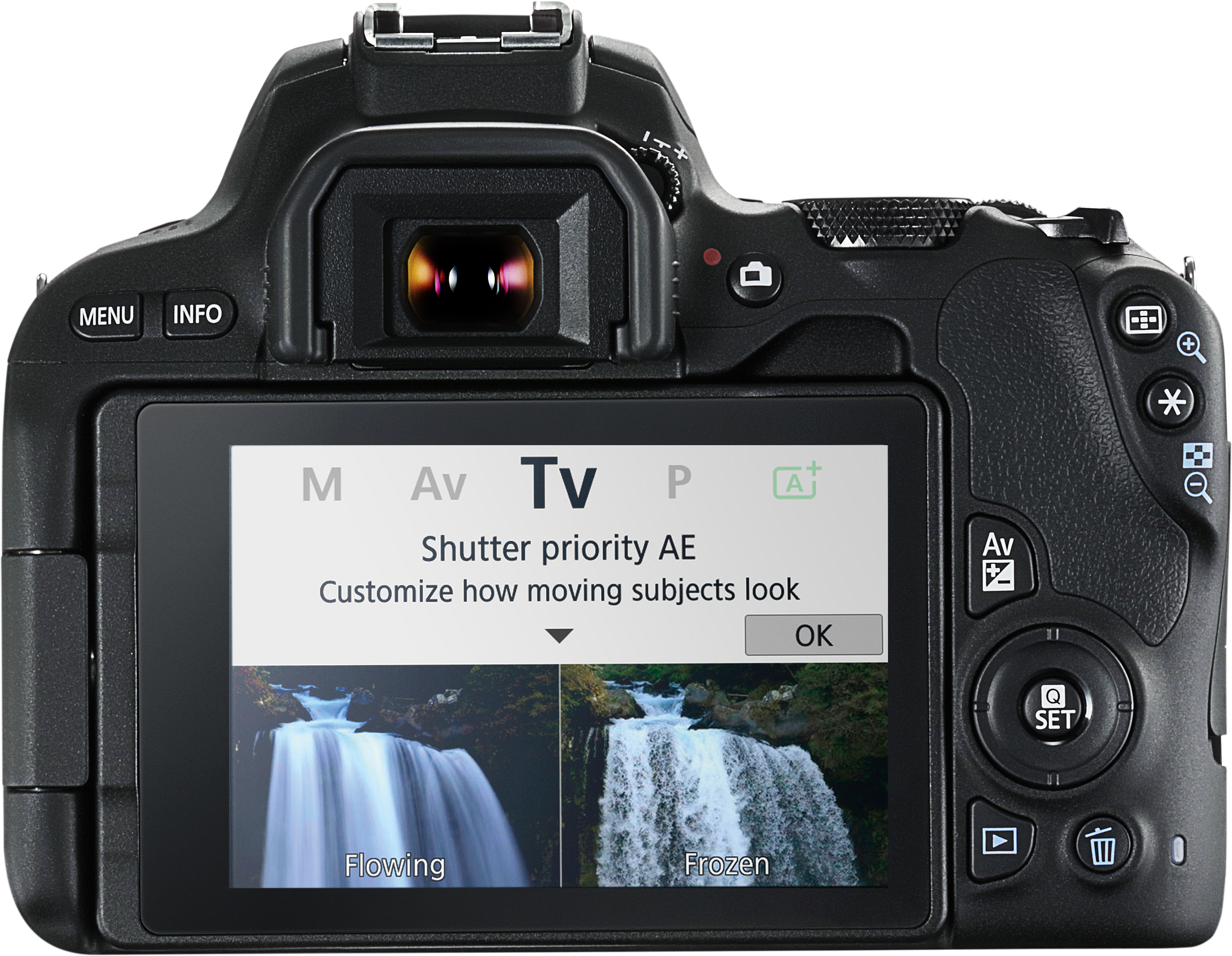 Canon 200D New Guided Display TV Mode