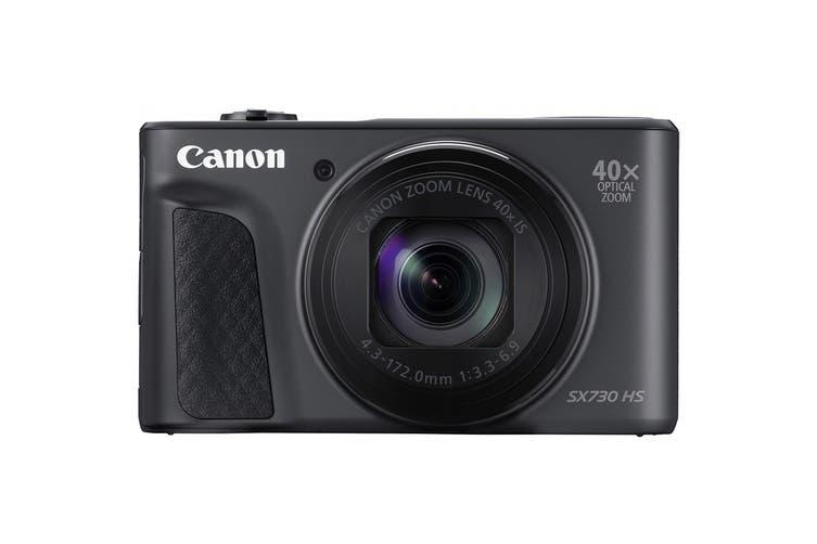 Canon Powershot SX730 HS Digital Still Camera - Black