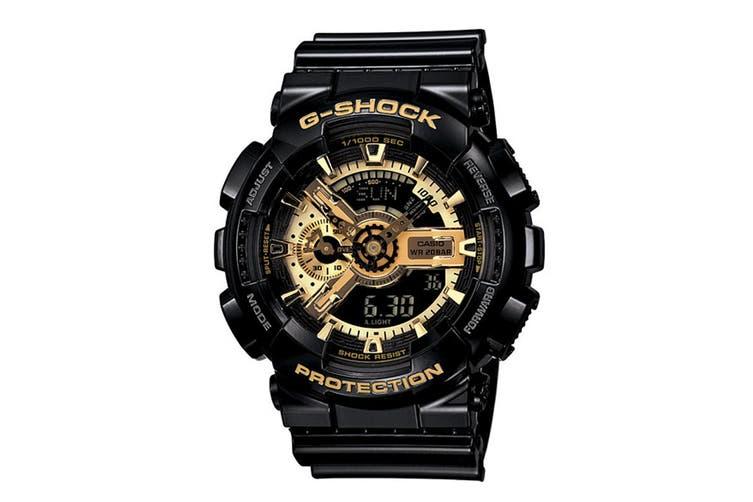 Casio G-Shock X-Large Ana-Digital Watch - Black/Gold (GA110GB-1)