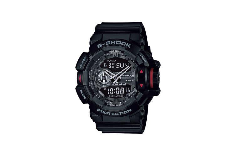 Casio G-Shock Ana-Digital Watch - Black/Red (GA400-1B)