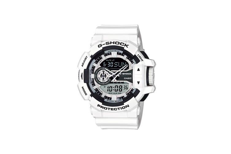 Casio G-Shock Ana-Digital Watch - Black/White (GA400-7A)