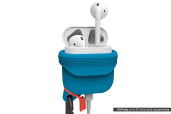 Catalyst Waterproof Case For AirPods - Orange/Blue