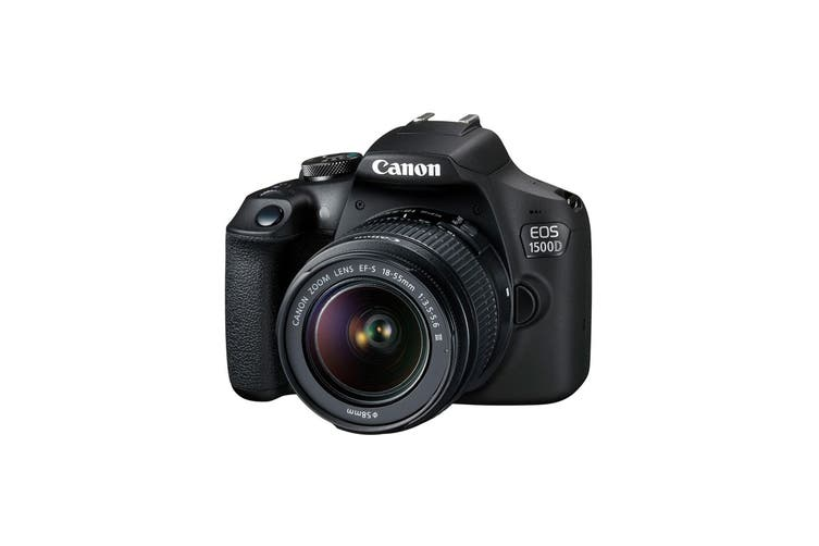 Canon EOS 1500D DSLR Camera with EFS18-55mm III Lens