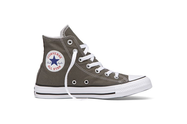 Converse Chuck Taylor All Star Hi (Charcoal, US Mens 6.5 / US Womens 8.5)